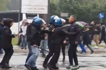 Drama: Mihajlović krenuo na navijača, policija ga spriječila...