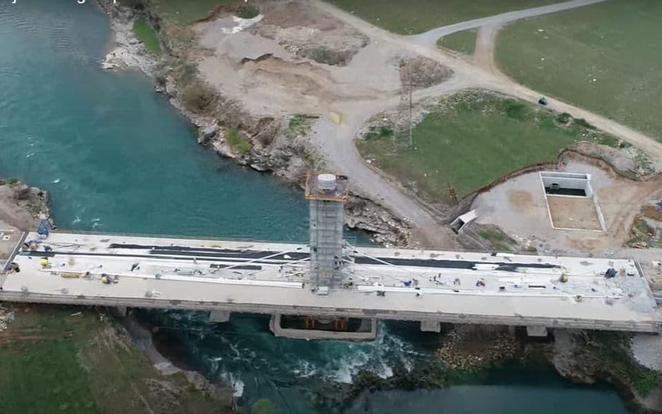 Za Dan nezavisnosti preko novog mosta