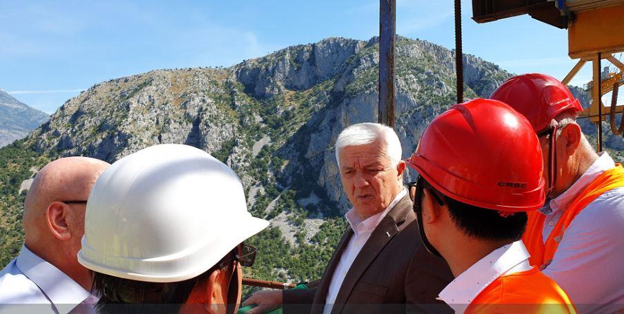 Marković obišao most Moračica: Impresivan objekat