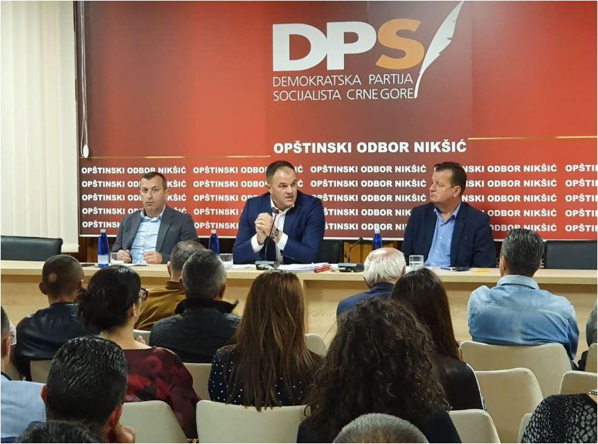 OO DPS Nikšić: Usvojen Prijedlog nacrta kongresnih dokumenata