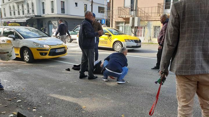 Taksista udario ženu u centru Podgorice