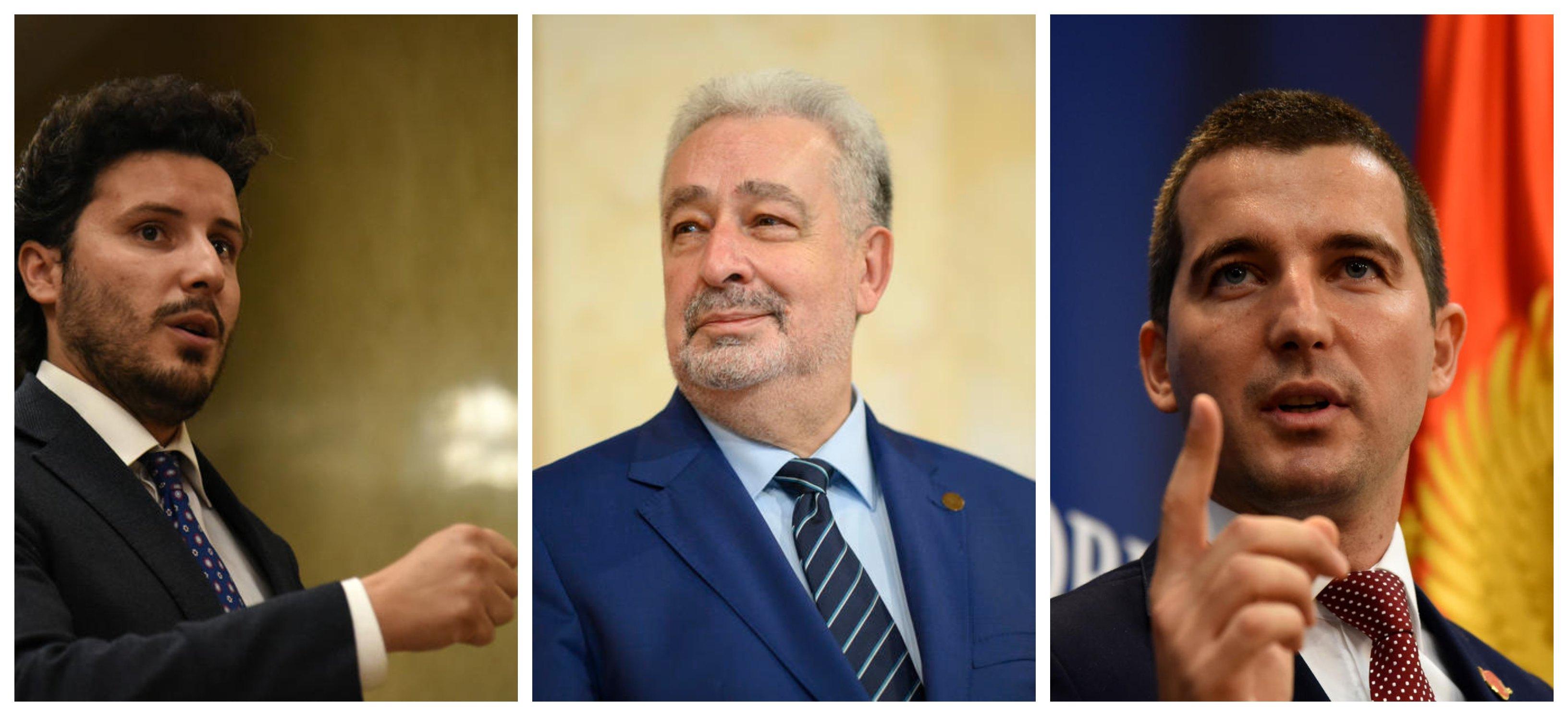 Krivokapić, Bečić i Abazović: Neprihvatljivo uplitanje inostranog faktora, protiv smo rušenja Vlade i novih izbora
