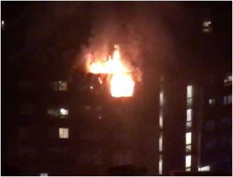Veliki požar u Zagrebu: Gorjelo osam stanova i potkrovlje, stanari evakuisani