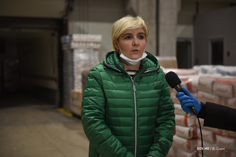 Sekulić: Krenula isporuka pomoći za Tuzi, slijedi snabdijevanje sjevera CG