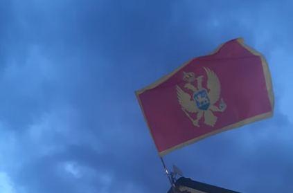 Ponovo se zavijorila crnogorska zastava u Kolašinu