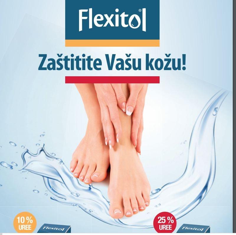 Ostanite kod kuće i njegujte vašu kožu najboljim Flexitol balzamom