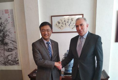 Stanković razgovarao sa Liu Jinom