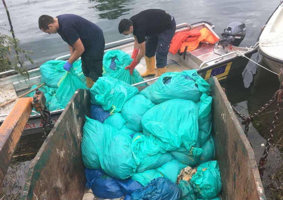 Nastavljena akcija: Iz Bojane izvađeno više od 100 kesa sa uginulom živinom