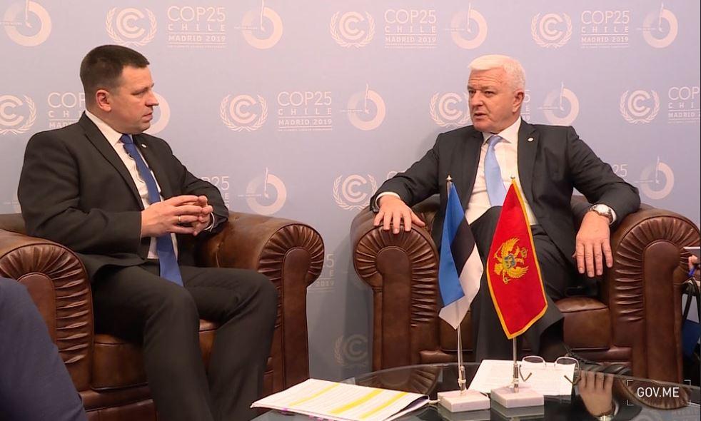 Marković razgovarao sa premijerom Estonije