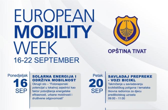 """Tivat obilježava Evropsku nedjelju mobilnosti: """"Pješačite sa nama"""""""