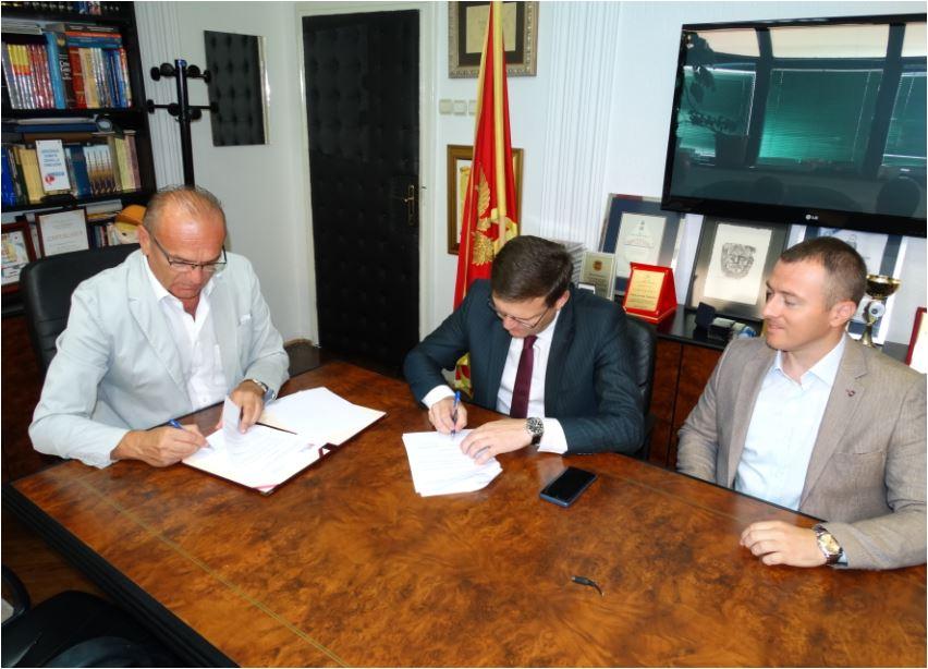 Dom zdravlja Podgorica i Centar za profesionalnu rehabilitaciju potpisali Memorandum o saradnji