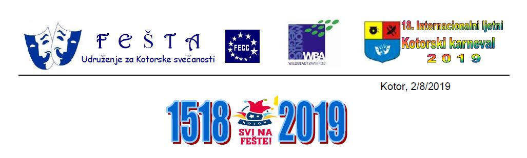 Svečano otvoren XVIII Internacionalni ljetnji kotorski festival