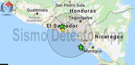 Jak zemljotres u Salvadoru i Nikaragvi