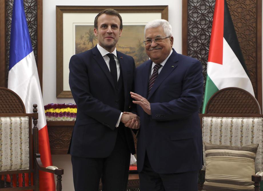Abas na sastanku sa Makronom pozvao na priznanje Palestine