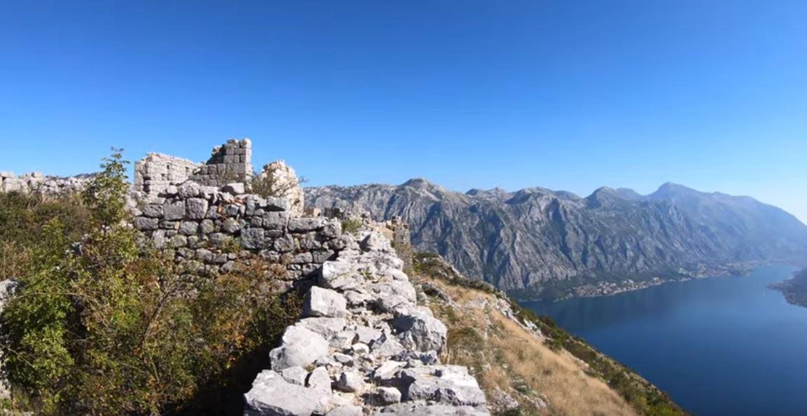 Tvrđava Vranovo brdo: Uživajte u fantastičnom pogledu na Bokokotorski zaliv