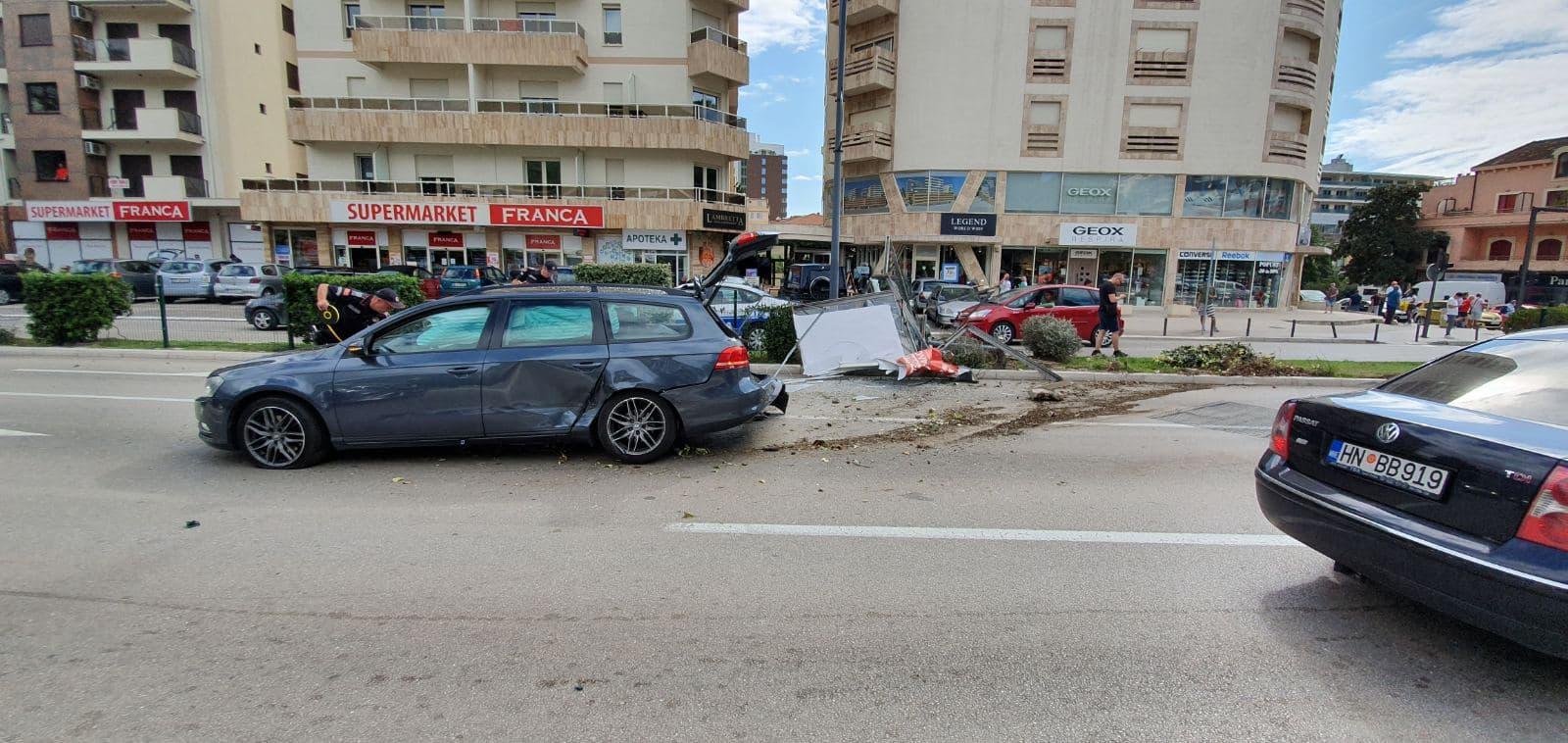 Saobraćajna nezgoda u Budvi