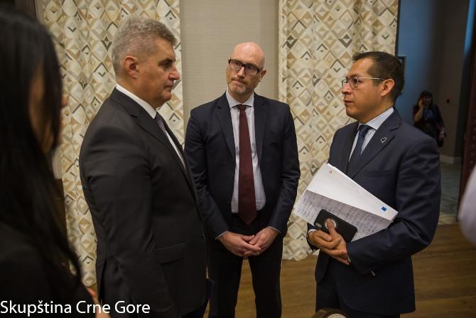 Brajović otvorio skup SB o jačanju saradnje parlamenata i vrhovnih revizorskih institucija