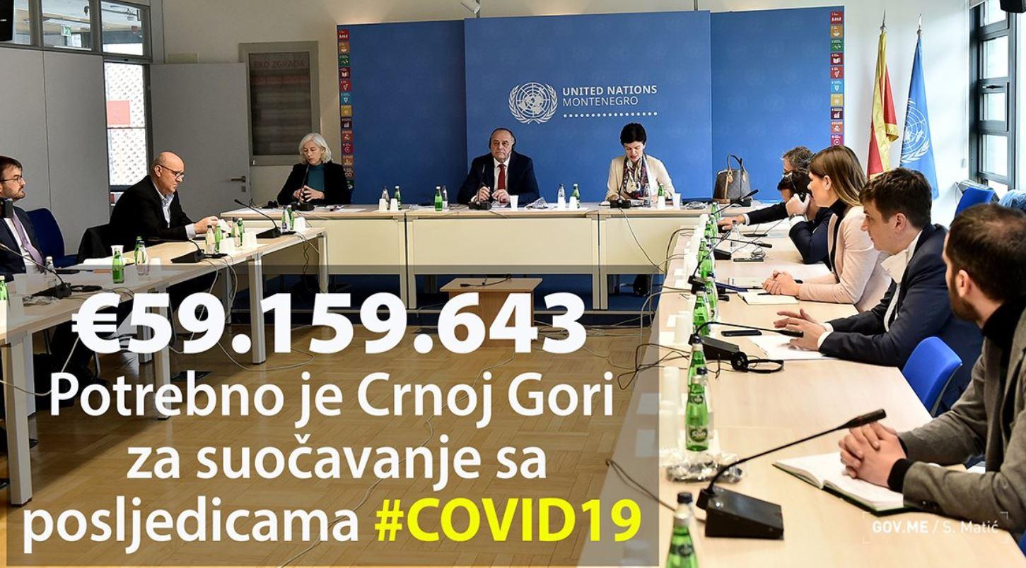 Simović: Od sljedeće sedmice vrhunac epidemije, treba nam 59 miliona eura za tri mjeseca