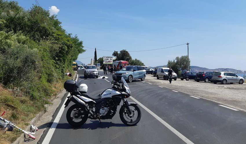 Udes na putu Sutomore- Bar, poginuo muškarac