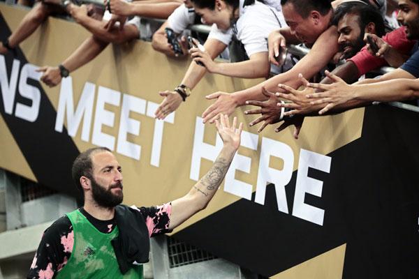 Sramno ponašanje Iguaina na treningu Juventusa