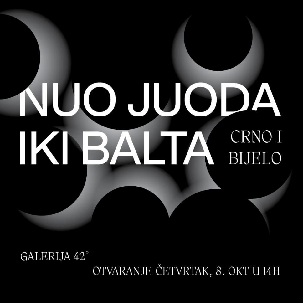 """Izložba """"Crno i bijelo"""" na Cetinju"""