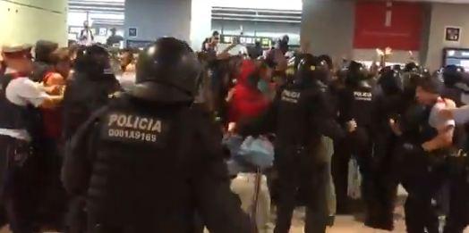 Blokiran aerodrom u Barseloni, sukob policije i demonstranata
