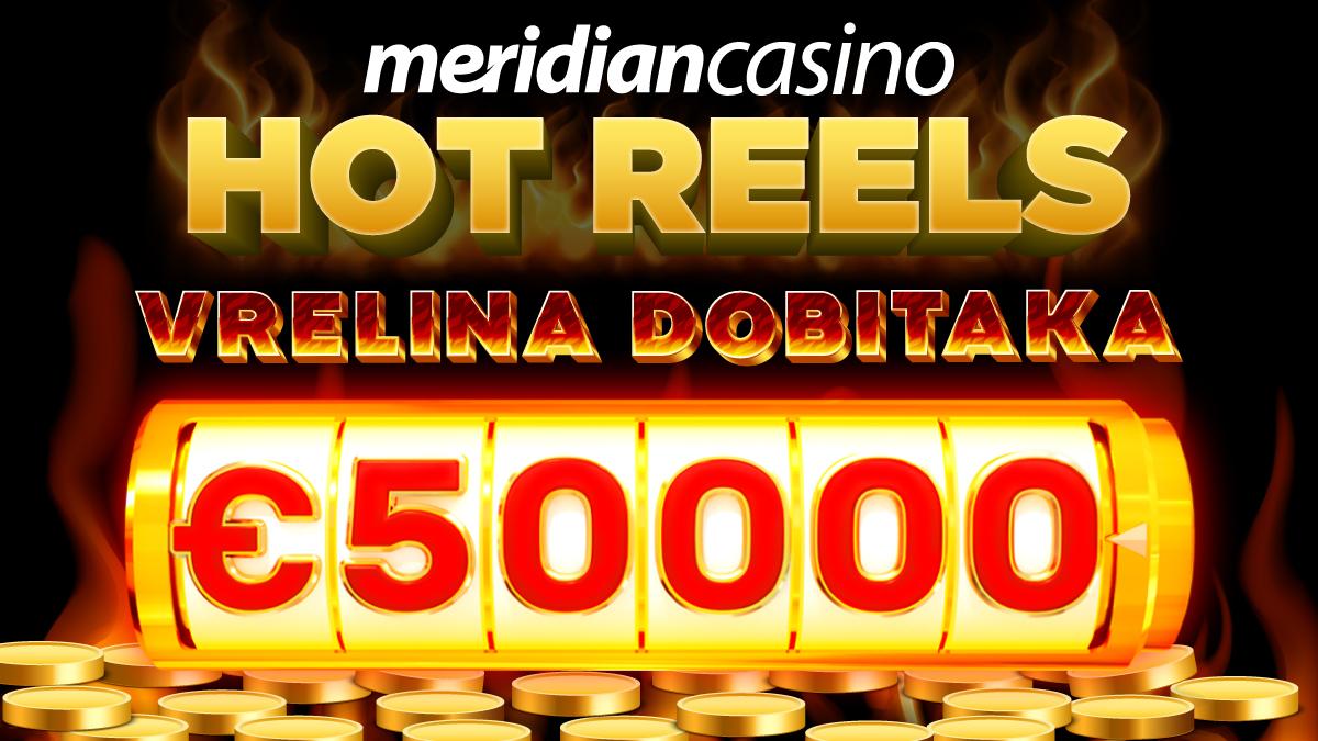 Osjetite vrelinu moćnih dobitaka na Meridian online kazinu