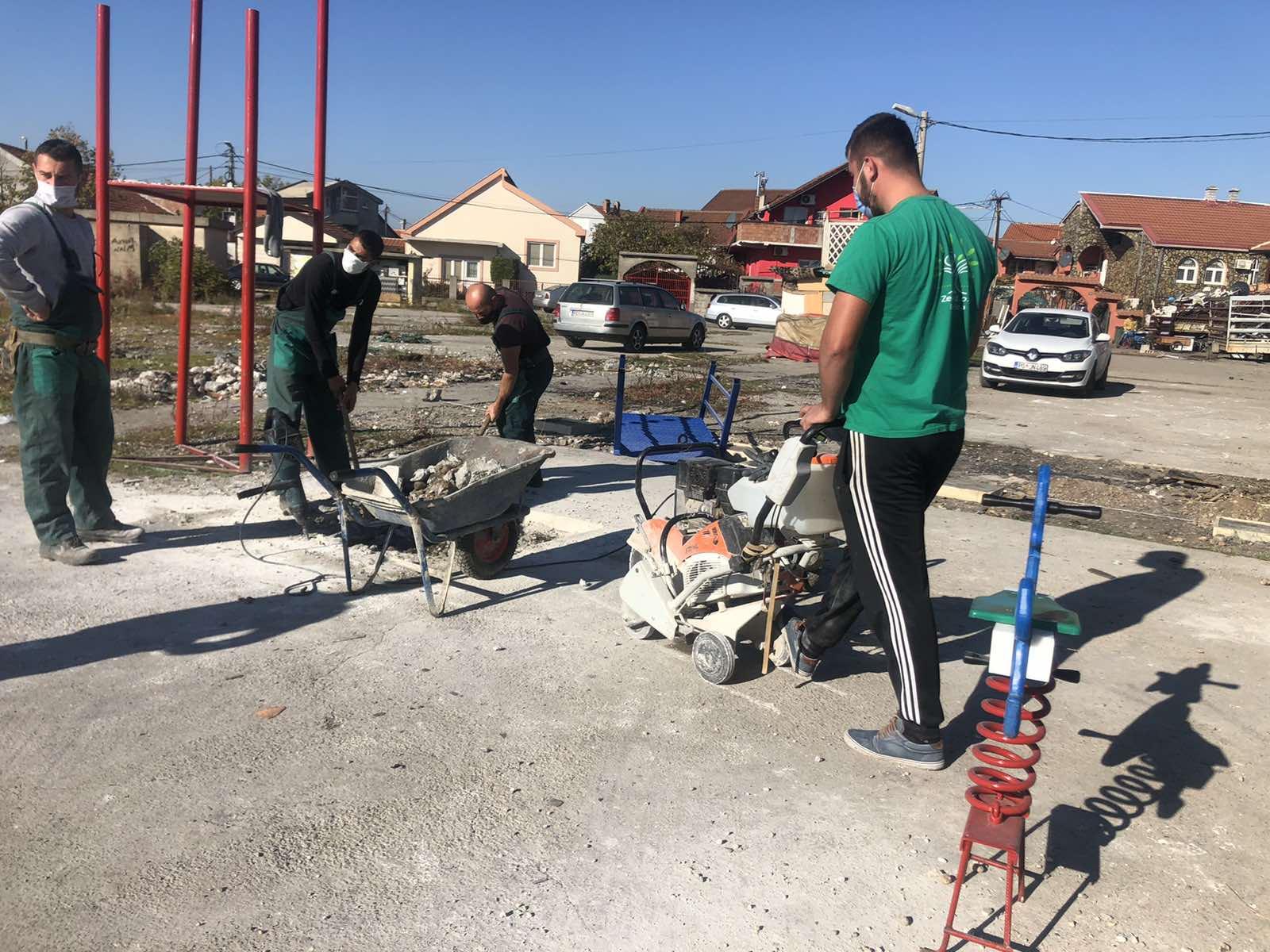 Počela gradnja dječijeg igrališta na Vrelima Ribničkim