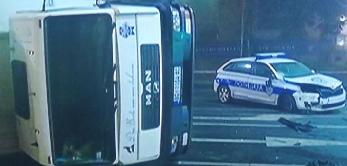 Težak udes u centru Beograda: U lančanom sudaru povrijeđeni policajci