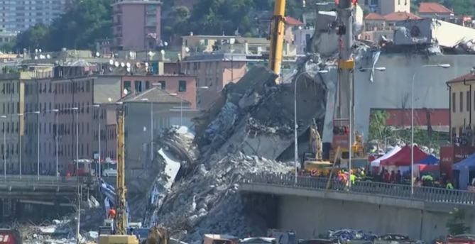 Italija: Obilježena godišnjica tragedije na mostu u Ðenovi