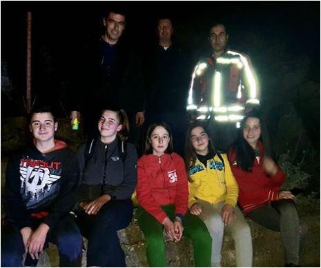 Uspješno završena akcija: Djeca se izgubila na brdu iznad Tološa