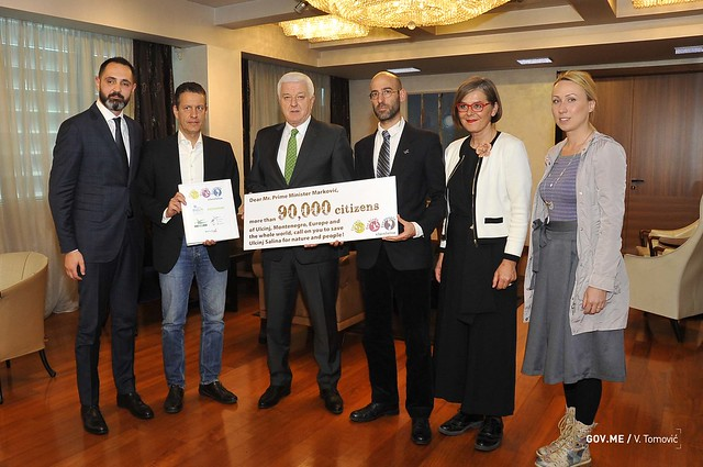 Marković: Vlada snažno posvećena očuvanju i zaštiti Ulcinjske solane