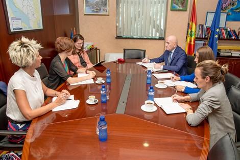 Nurković sa stalnom predstavnicom UNDP u CG: Projekat Bella Boka se uspješno realizuje