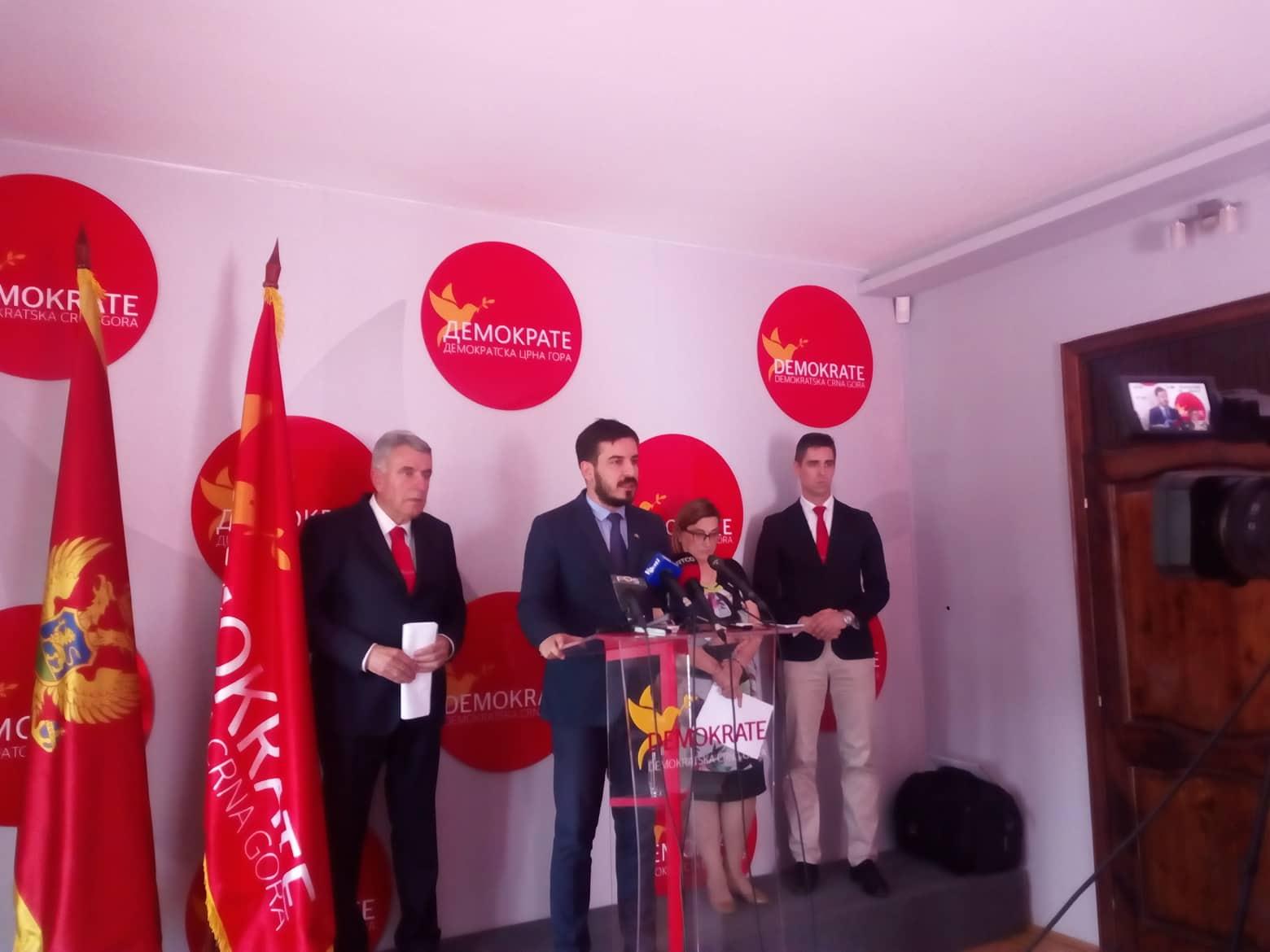 Jokić: Očekujem javno izvinjenje partija građanima Kotora