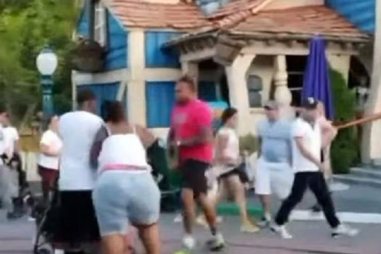 Snimak brutalne porodične tuče ispred Diznilenda obišao svijet