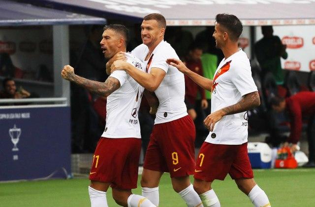 Kolarov i Džeko srušili Romu, Napoli ubjedljiv