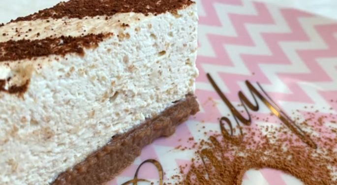 Lagana, kremasta kapućino torta koja se ne peče