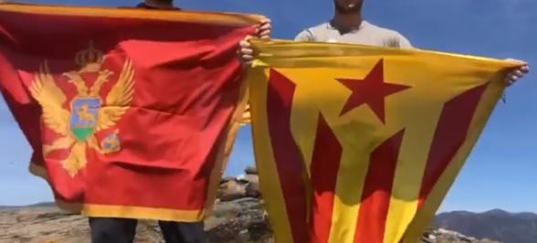 Crnoj Gori podrška iz Katalonije: Crnogorci, borite se za svoju slobodu, borite se za svoje snove!