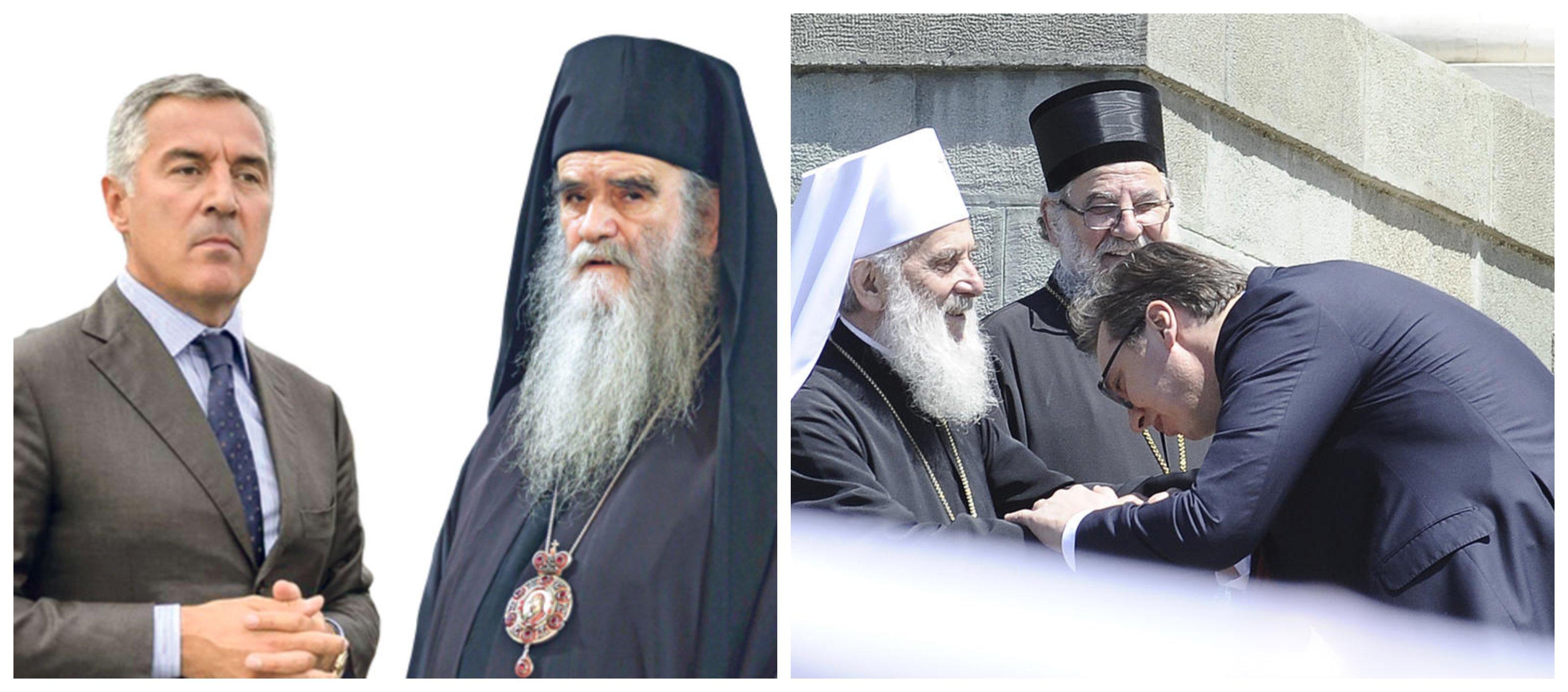 SPC bi da Đukanović ljubi ruku Amfilohiju, kao Vučić Irineju
