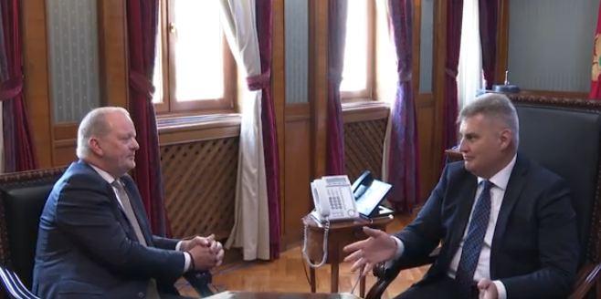 Brajović primio ambasadora Holandije