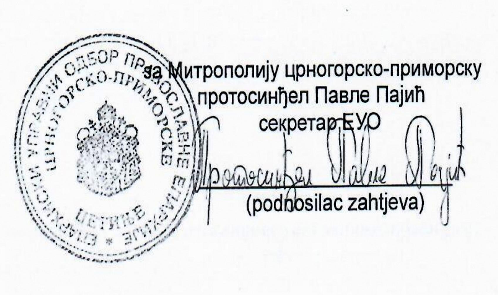 Potvrđeno pisanje Antene M: Državljanin Srbije novi sekretar Mitropolije