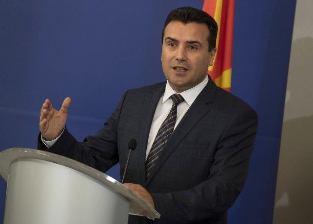 Zaev obezbijedio većinu za ustavne izmjene