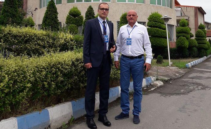 Profesori UCG o antropometrijskim mjerenjima izlažu u Iranu