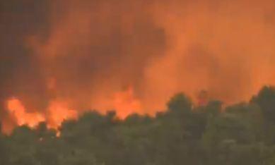 Gori Grčka: Stotine vatrogasaca gase velike požare