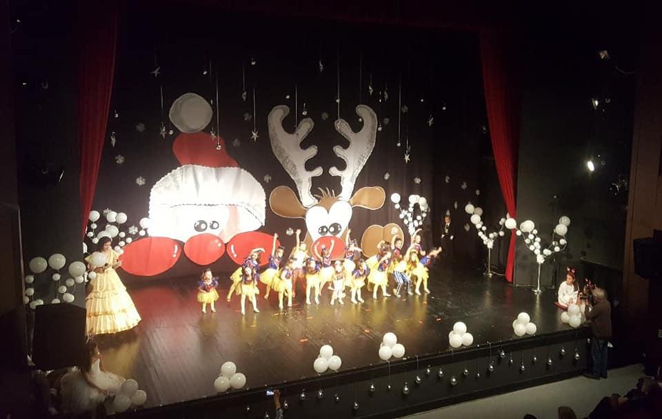 """Priredba """"Dječije novogodišnje čestitke"""" održana u Tivtu"""