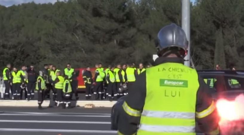 Uhapšeno 59 ljudi na protestu žutih prsluka u Parizu