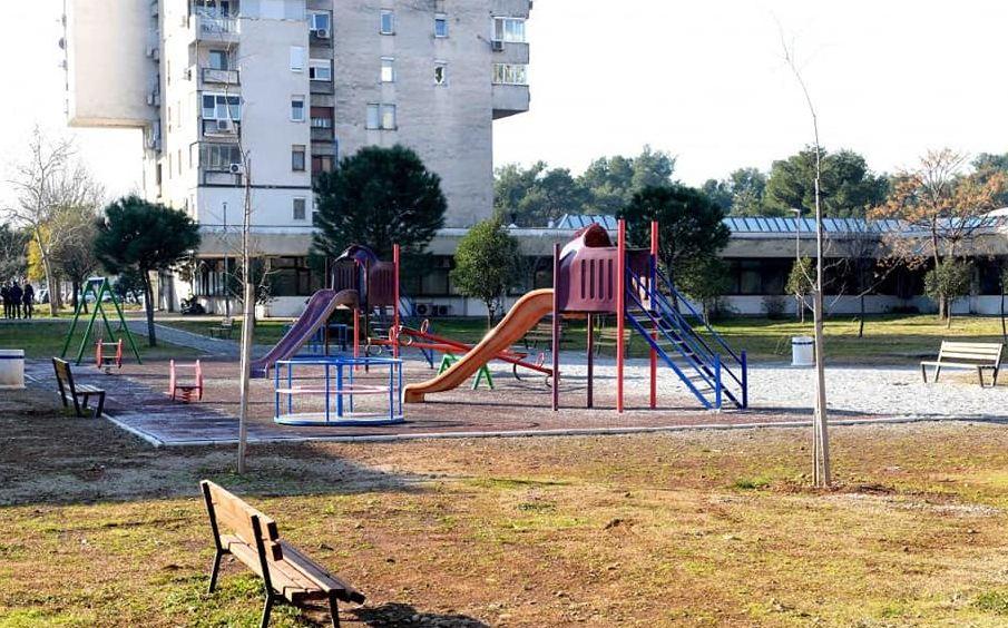 Nova rasvjeta za dječje igralište u Bloku V