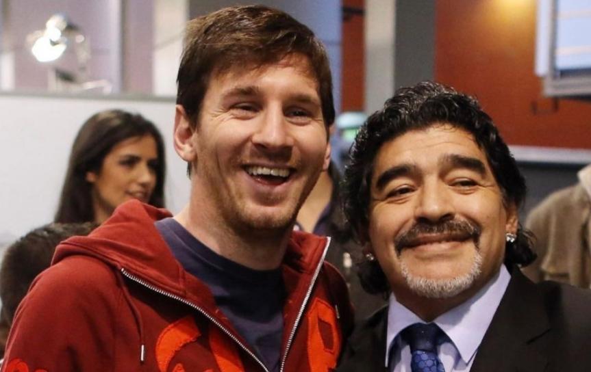 Mesi se oprostio od Maradone: Otišao je, ali nas nije napuštio