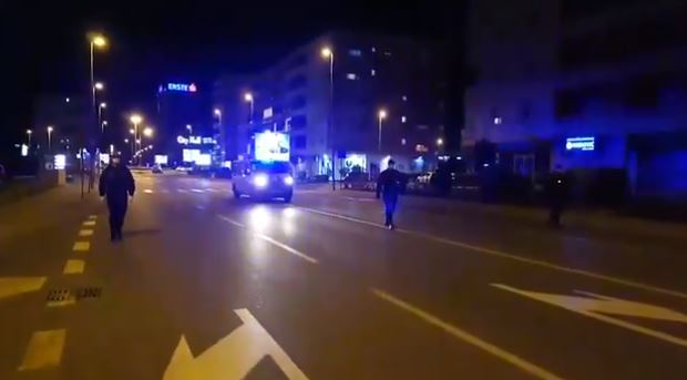 Policija zatekla osmoro Podgoričana napolju nakon 19h, krivično procesuirani