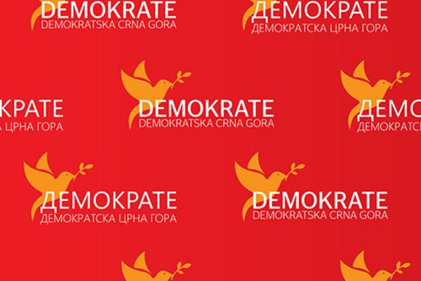 Demokrate o današnjem protestu: Lažna demokratija ponovo se obukla u uveliko islužene DPS pomoćne odrede